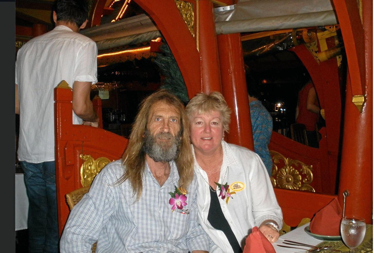 John and Sharon Edwards.