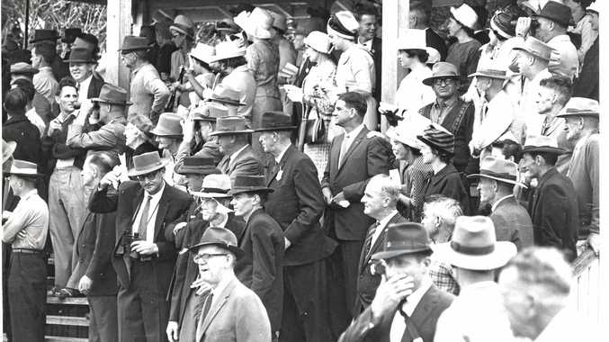 Hats were the order of the day - for men and women - when Mackay went to the races at Ooralea in 1964.