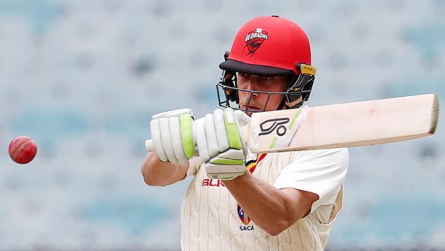 Jake Lehmann of South Australia in action.