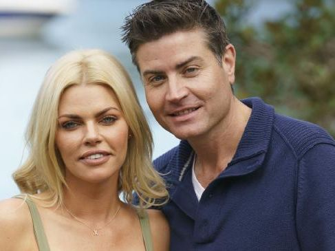 Stu Laundy and Sophie Monk