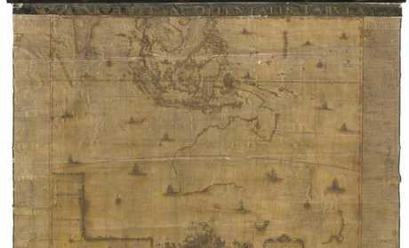 One of the rarest maps in the world, the first large-scale map of New Holland, has been acquired by the National Library of Australia.