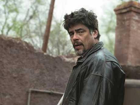Benicio Del Toro in a scene from the movie A Perfect Day. Picture: Madman Films