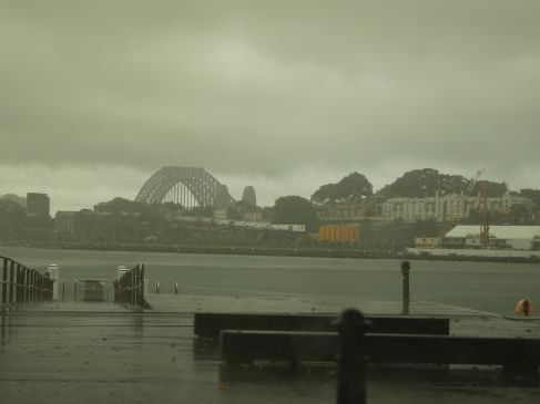 Sydney is forecast to be bit with up to 30mm of rain today (Picture: John Grainger).