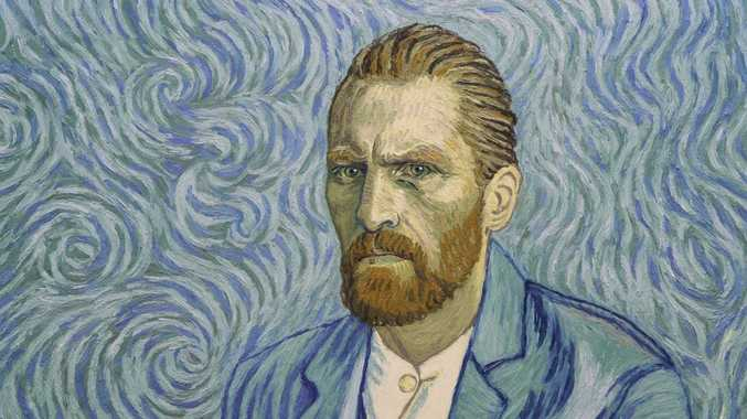 A still from the movie Loving Vincent, the first ever fully painted feature film.