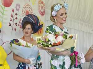 Hand-made creations top winners in fashions on the field