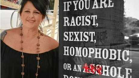 Gympie hotelier Stacey Lowe has made it clear she will not tolerate bullying at The Royal Hotel.