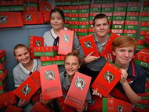 Shoeboxes making the biggest difference