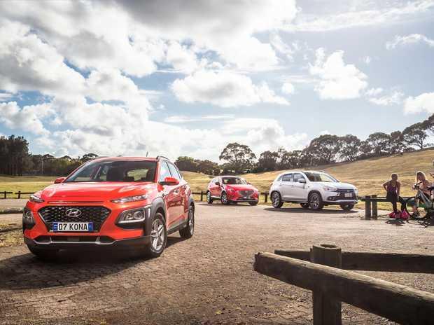 The Hyundai Kona, Mazda CX-3 and Mitsubishi ASX put to the comparison test.