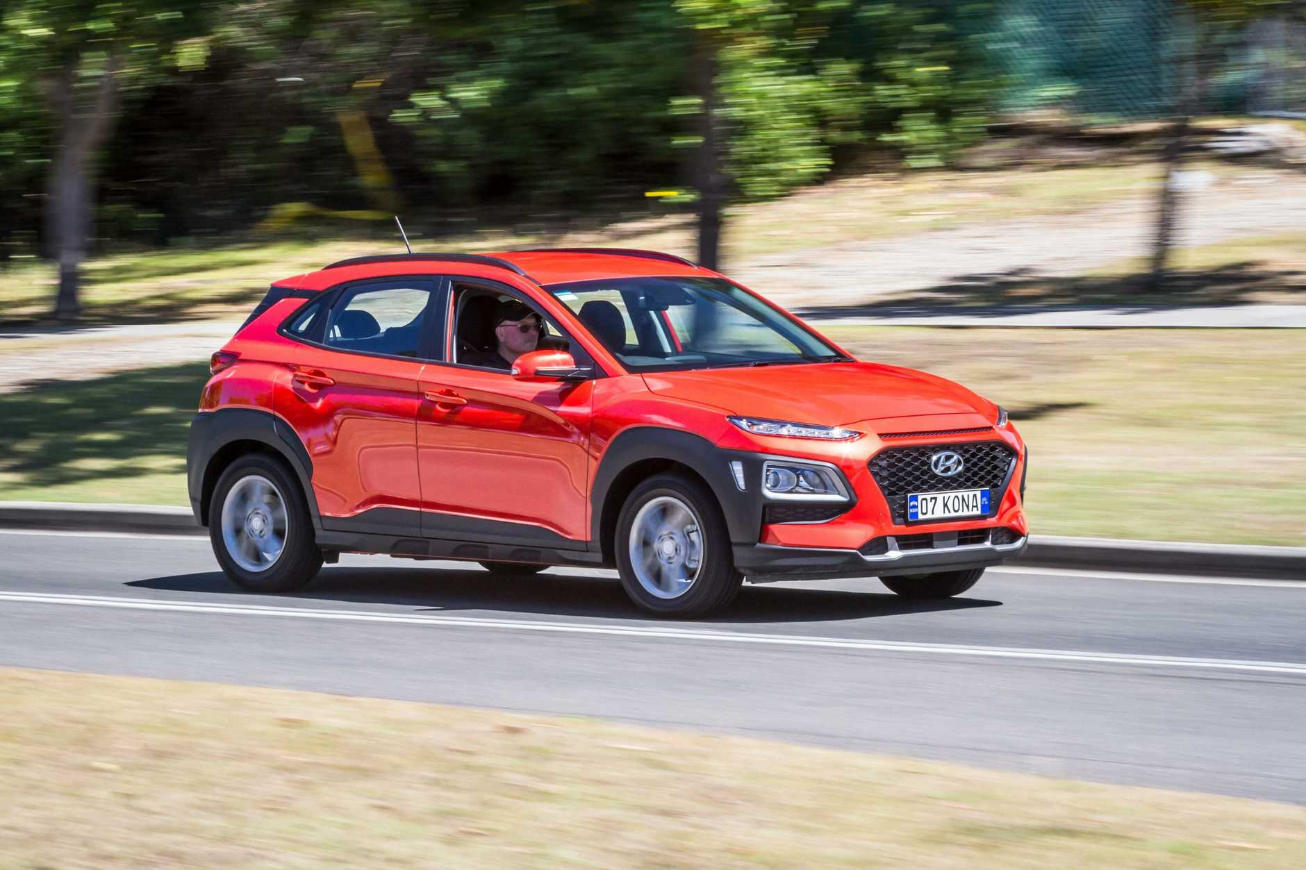 The Hyundai Kona.