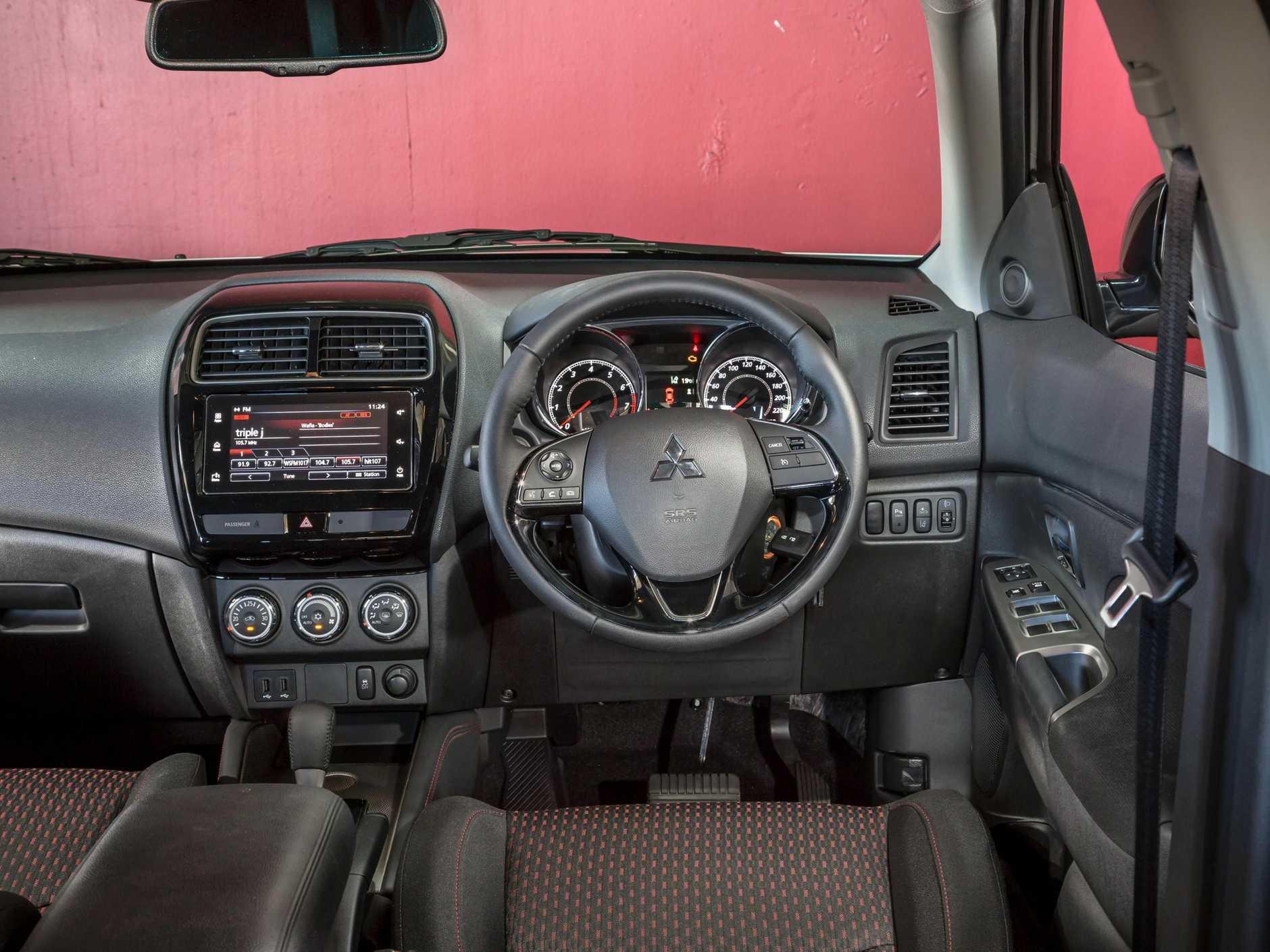 Inside the 2017 Mitsubishi ASX.
