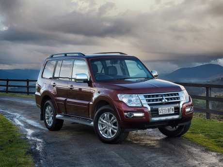 The Mitsubishi Pajero.