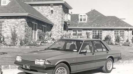 A Ford XE Falcon.