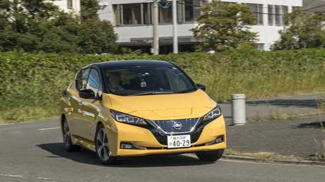 The 2018 Nissan Leaf (overseas model shown).
