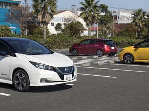 Updated electric-powered Nissan Leaf to have 400km range