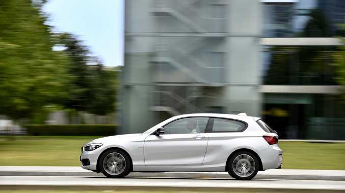 The BMW 1 Series (overseas model).