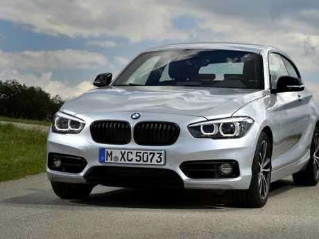 The BMW 1 Series (overseas model).