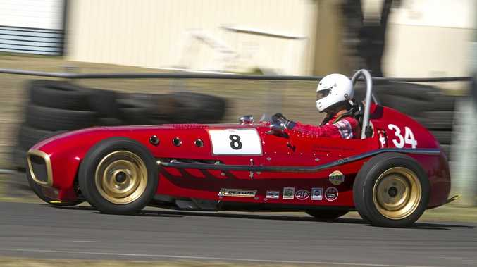 CLASSIC: Steve Budden's 1958 Read Holden Special single seater will be display at the hill climb.