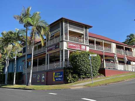 The Palmwoods Hotel on the Sunshine Coast.