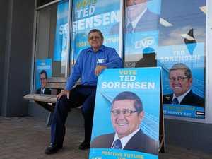 Sorensen kicks off election campaign