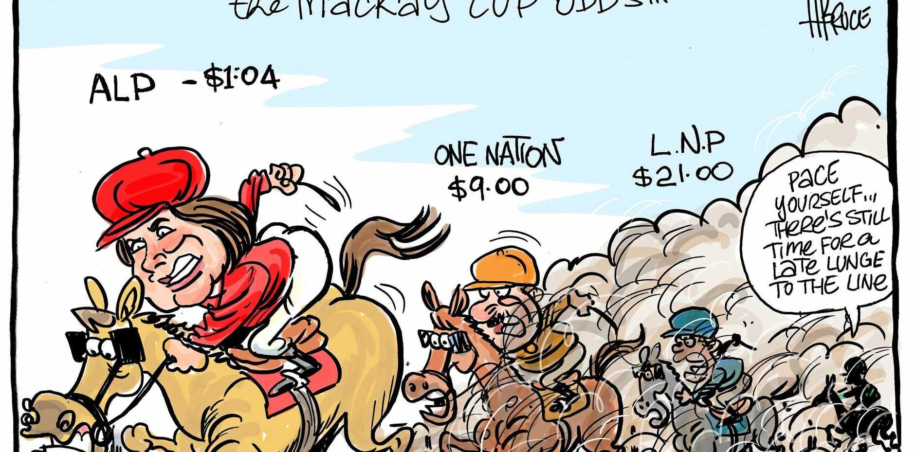 harry bruce cartoon alp short election odds