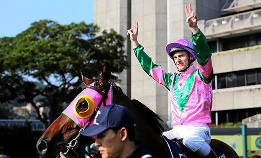 LISMORE JOCKEY: Lismore-born and Coffs Harbour trained jockey Zac Purton is riding Irish stayer Max Dynamite in the 2017 Melbourne Cup.
