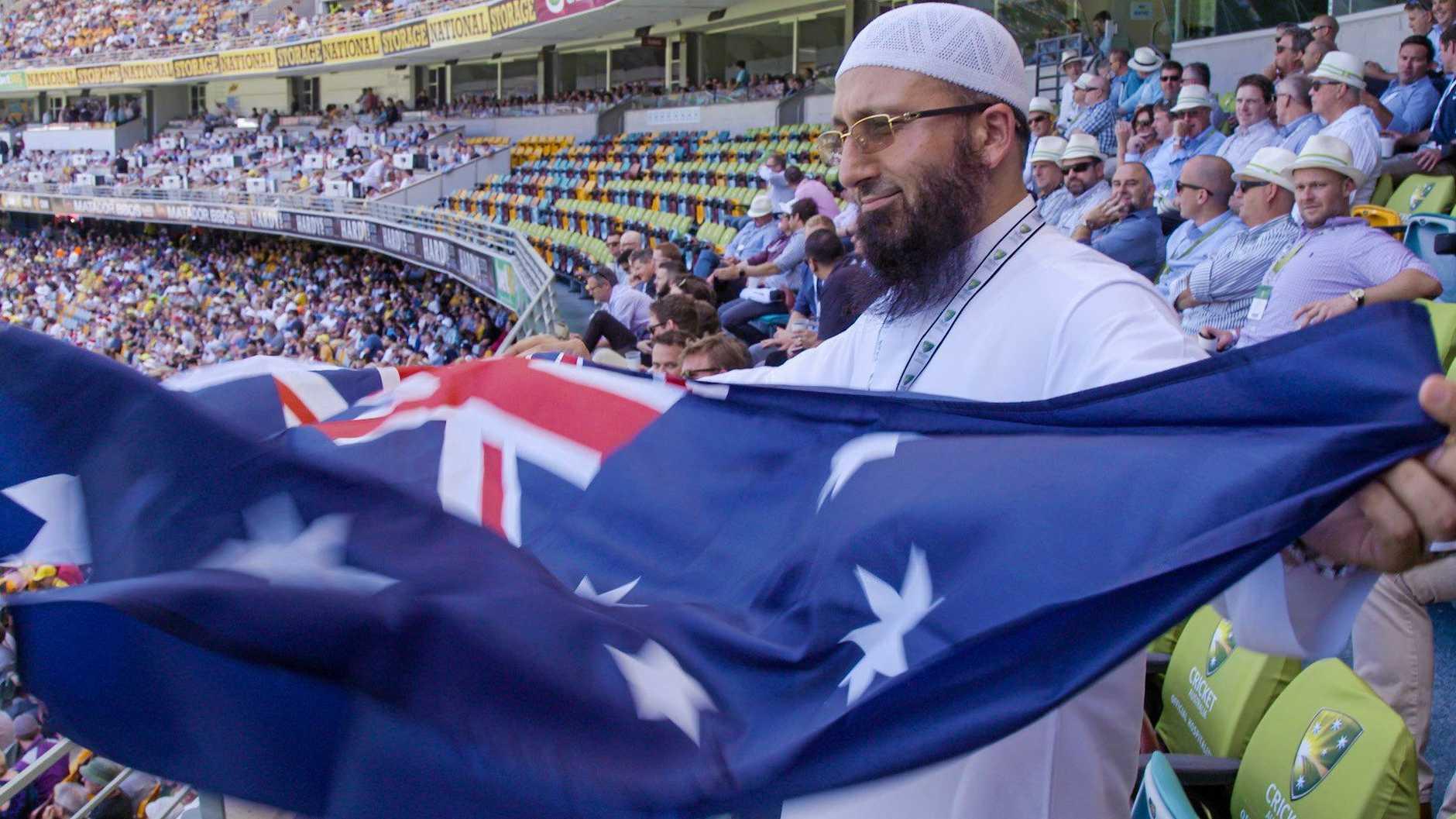 Passionate cricket fan Imam Uzair in The Mosque Next Door.