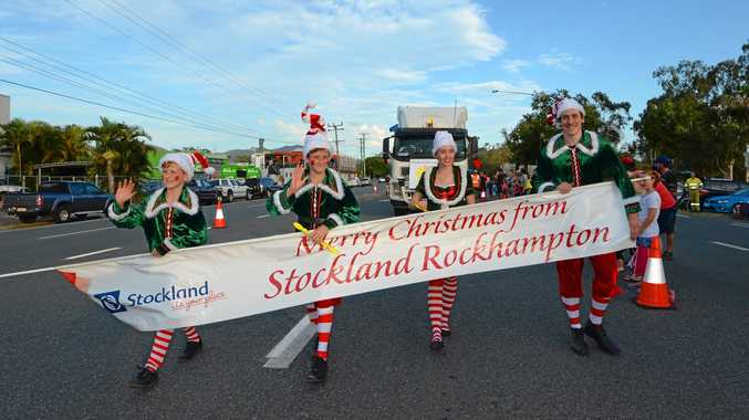 CHRISTMAS CHEER: Rocky's streets will be filled with joy as the 2017 Christmas Parade commences next Thursday at 5:30pm.