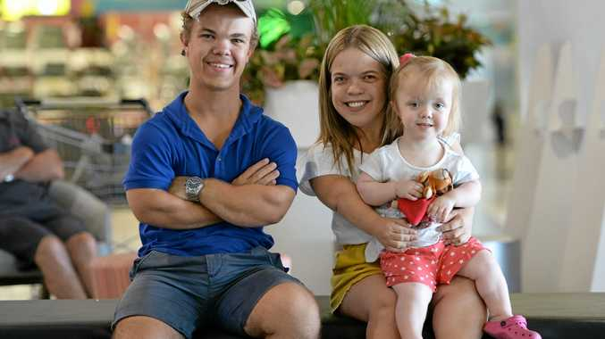 L-R Bailey Connor, Taneya Shannen and Maggie Allridge involved in Dwarfism Awareness Month.