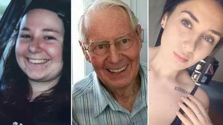 Brittney Dwyer, Robert Whitwell, Bernadette Burns