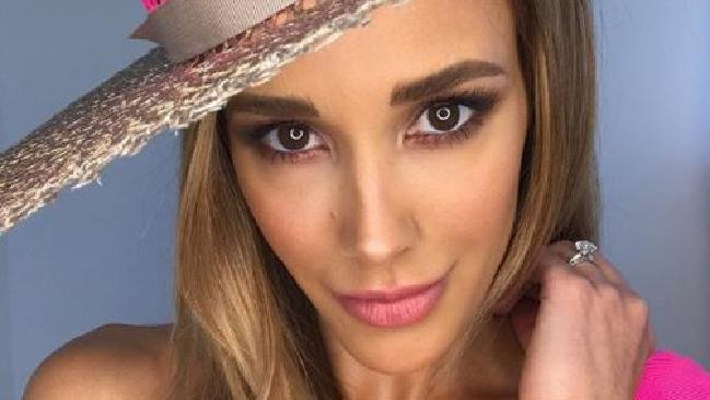 Bec Judd has revealed she's wearing bright pink for Melbourne Cup.