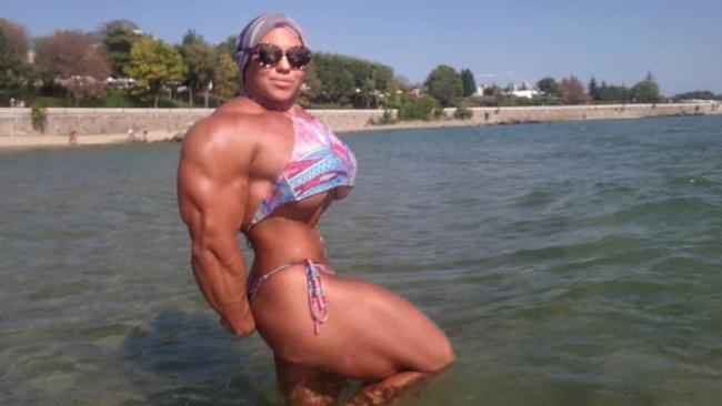 world s most terrifying female bodybuilder is back rockhampton