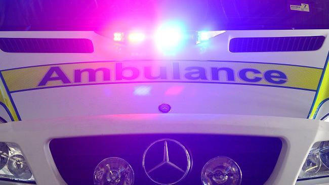 Mt Lofty man was taken to Toowoomba Hospital.