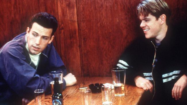 Ben Affleck and Matt Damon got their break writing and starring in Good Will Hunting two decades ago, but Affleck now feels the memory is tainted as the film was funded by Harvey Weinstein.