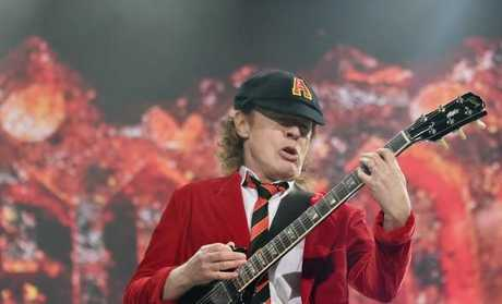 No more AC/DC... (Photo by Mike Coppola/Getty Images)