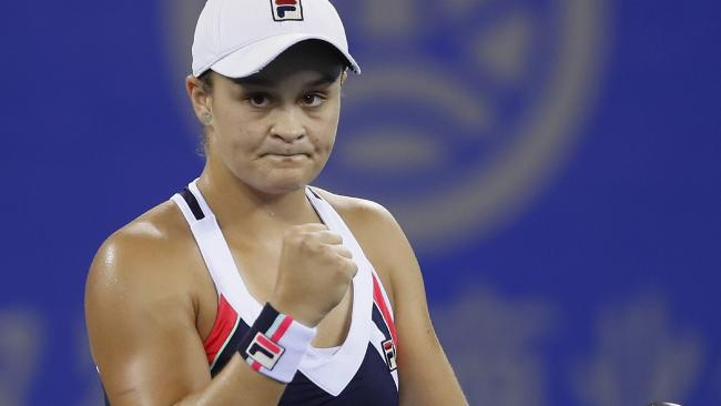 Ashleigh Barty has risen to the world's top 20.