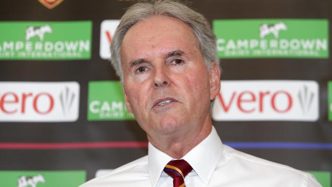 Brisbane Lions chairman Bob Sharpless has informed the board he will resign. Picture: Tim Marsden