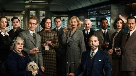 Kenneth Branagh says the key to assembling such a stellar cast for Murder On the Orient Express was to get his old friend Dame Judi Dench first.