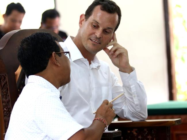 Thomas Harman's sentence was well short of the six months demanded by the prosecutors.  Picture: Lukman S Bintoro.