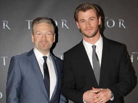 Kenneth Branagh took a punt on Chris Hemsworth as the God Of Thunder in the first Thor movie in 2011, and continues to take pride in the Marvel franchise he helped create.