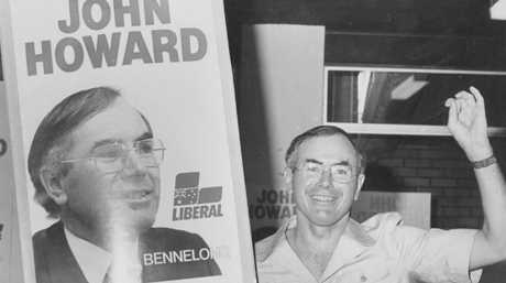 John Howard held the seat of Bennelong from 1974 until his political career ended in 2007. Picture: David Motte