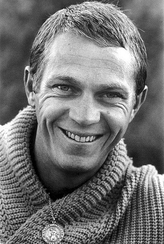 Steve McQueen was, at one time, the highest paid film star in the world.