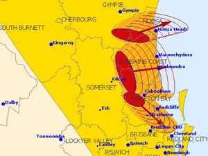 SEVERE STORM: Dangerous supercells barrel towards Coast