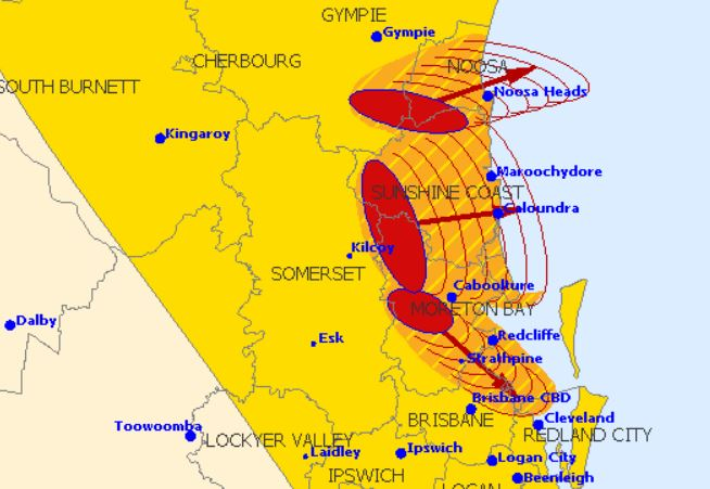 Three storms are on track to hit the Sunshine Coast.