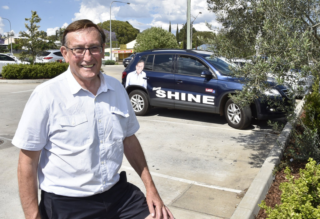 Kerry Shine is weighing up a bid for mayor.