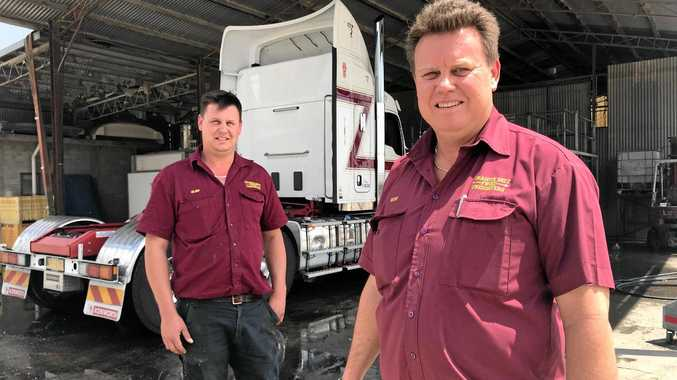 TRADITION: Brothers Glen and Rod Abraham are continuing the long-standing family business.