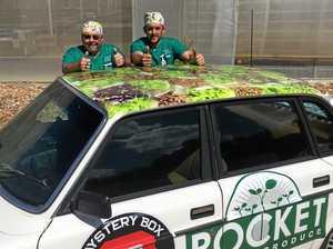 Pocket Rocket in Mystery Box Rally