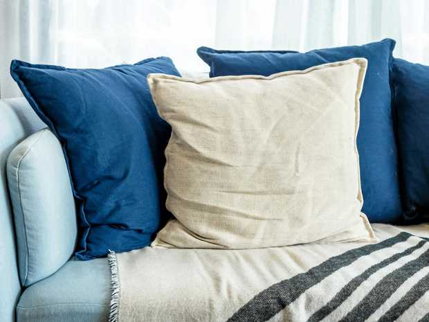 Swap out with the winter throws for lighter, more breathable manchester around your home.