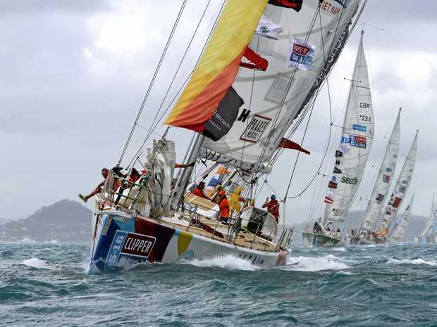 AROUND THE WORLD: The fleet of 12 Clipper yachts will arrive in Airlie Beach in January.