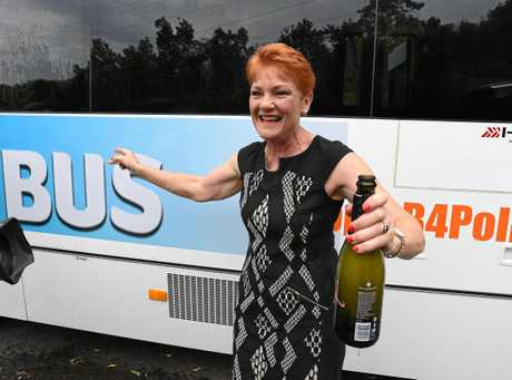 One Nation leader Pauline Hanson will conduct a regional tour of the state speaking to residents about the major issues for the Queensland election campaign.