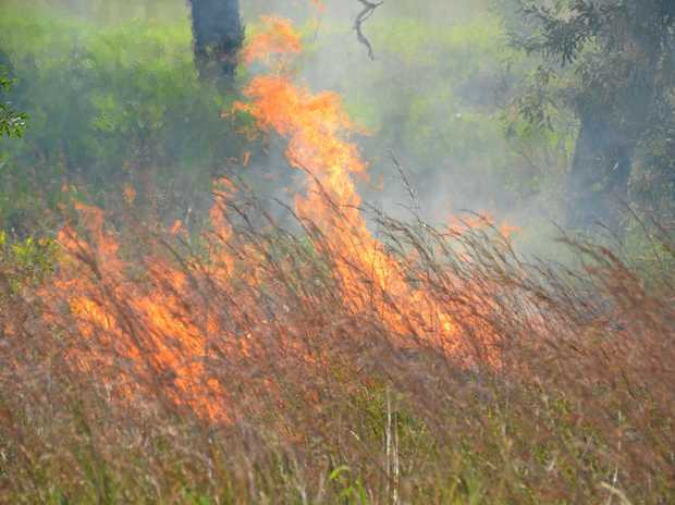 IMPORTANT PREPARATION: Farmers and landowners are continuing to back burn in anticipation of summer fires.